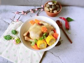 冬至美食  蔬菜鸡汤煲