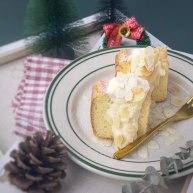 芝士奶油戚风蛋糕+海盐芝士酱