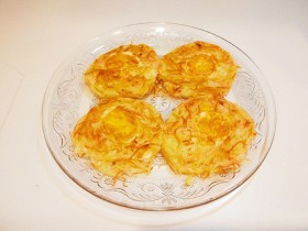 圣诞节🎄儿童土豆鸡蛋饼