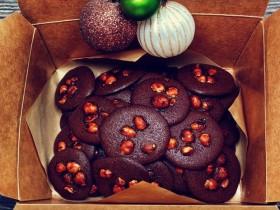 网红夏威夷果仁可可脆脆巧克力片 香港珍妮聪明小熊夏威夷果仁巧克力脆脆
