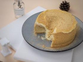 低脂低糖|日式豆腐戚风蛋糕