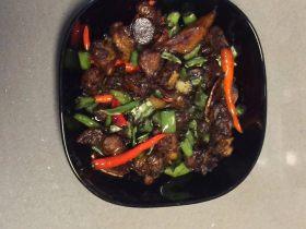 海椒干煸鸡翅
