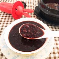 黑米紅豆粥