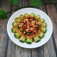 涼拌黃瓜卷
