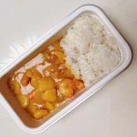 一人食的咖喱大虾饭