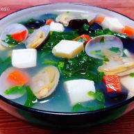花蛤豆腐湯