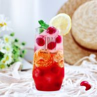 橘子蔓越莓蜂蜜冰饮