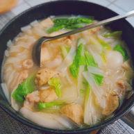 猪肚丸子粿条汤