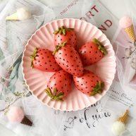 莓莓軟香小饅頭