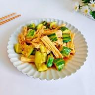 黃瓜拌腐竹