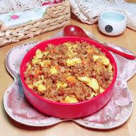 酱油蛋炒饭