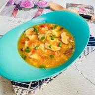 西红柿香菇汤