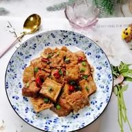 麻辣冻豆腐