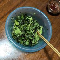 凉拌莴笋叶