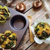 小芽早餐-意式早餐鸡蛋杯