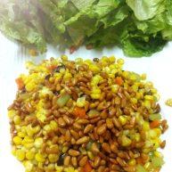 玉米生菜包