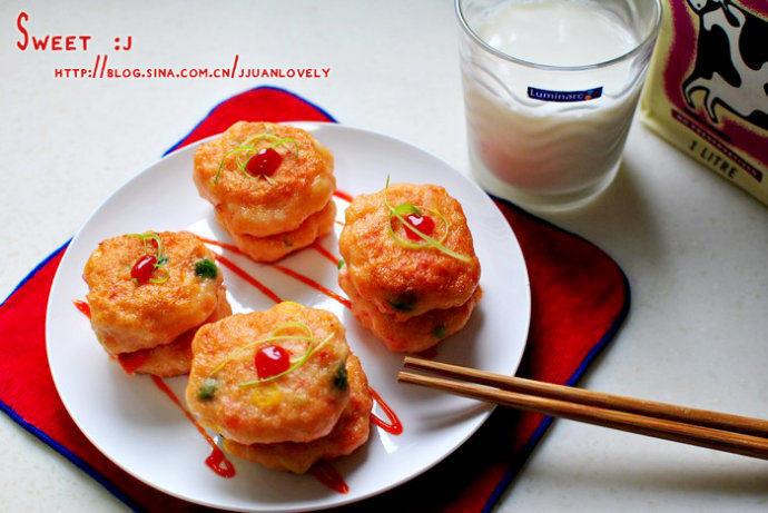 田园小虾饼