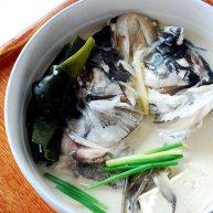 月子餐:鱼头海带豆腐汤(促进宝宝大脑发育)