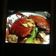 姜葱炒膏蟹