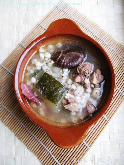 冬瓜薏米老鸭汤做法