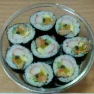 韩式  金枪鱼罐头紫菜包饭