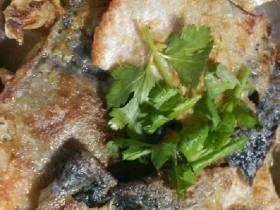 香煎三文魚皮