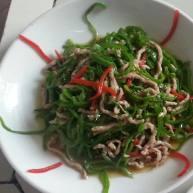 青椒炒肉(青椒肉丝)
