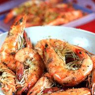 黑椒烤大虾