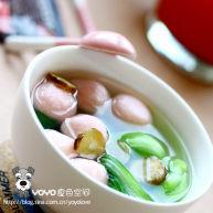 白芷油菜鱼丸汤