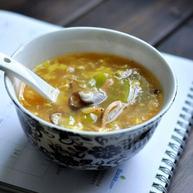 西红柿酸辣汤