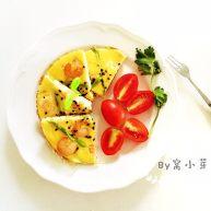 芦笋虾仁蛋饼—口感松软,补充丰富的蛋白质