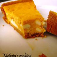乳酪夹心南瓜重乳酪蛋糕