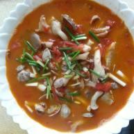 西红柿浓汤