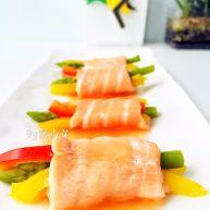 彩蔬鱼片卷