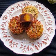 木糖醇广式莲蓉月饼