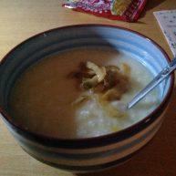 玉米片白粥