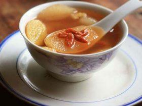 生姜蜜梨湯