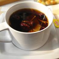 炒红枣生姜红茶
