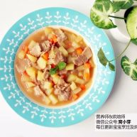宝宝辅食:日式土豆炖肉