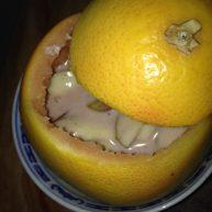 红柚冬枣水果奶
