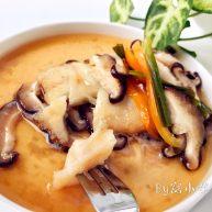 宝宝辅食:香菇蒸鳕鱼
