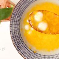 宝宝辅食:橘子酪&橘酪圆子