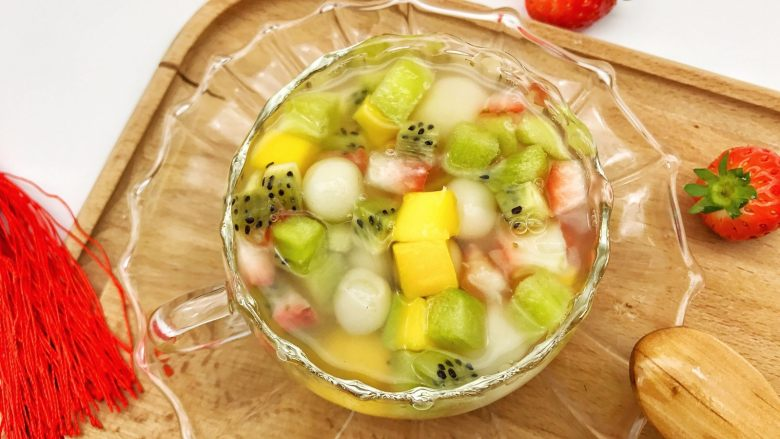 宝宝辅食:水果小圆子-36M