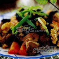 首乌炒羊肉