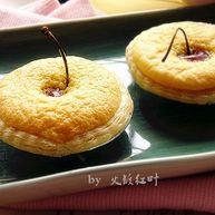 樱桃蛋糕挞