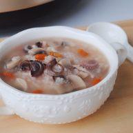 八爪鱼蘑菇粥