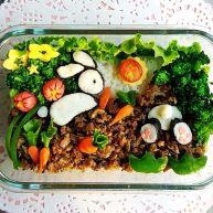 小兔子拔萝卜—儿童营养便当