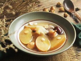 苹果梨子汤