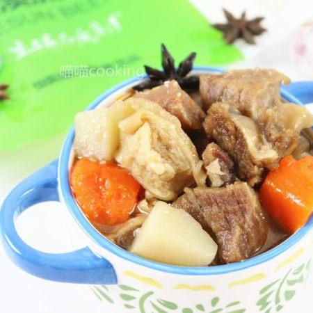 土豆萝卜焖牛腩
