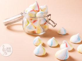 彩虹蛋白餅干,外形可愛,口感入口即化